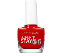 'Nagellack Superstay 7 Days' Nagellack rot