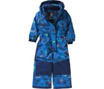 Schneeanzug Merlin Freefall für Jungen blau / grün / orange