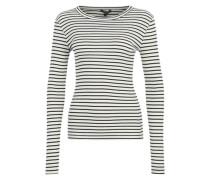 Streifenshirt 'Sevelia' weiß / navy