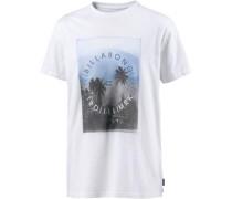 Printshirt 'Secluded' weiß