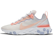 Sneaker 'React 55' beige / koralle
