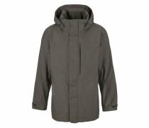 Regenjacke »Brooks Range Flex« khaki