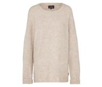 Pullover 'oversize Round' beige