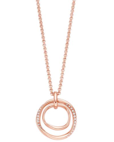 Halskette rosegold / weiß