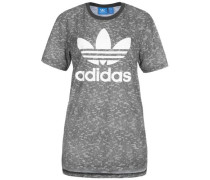 Essentials T-Shirt mit Allover-Print grau