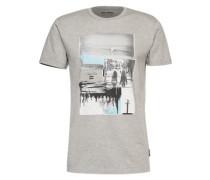 T-shirt 'vacation TEE SS' graumeliert