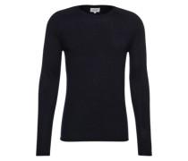 Pullover mit Cashmere-Anteil dunkelblau