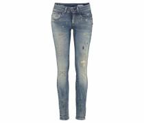 Skinny-fit-Jeans 'Midge Cody Mid Skinny Woman' blue denim