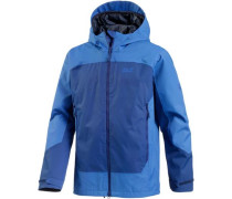'North Slope' Funktionsjacke royalblau / himmelblau