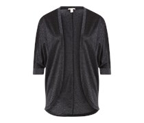 Shirtjacke 'Solid' schwarz