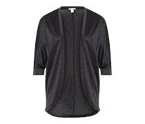 ESPRIT Shirtjacke 'Solid' schwarz