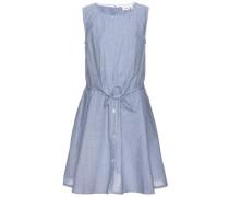 Kleid ohne Ärmel 'nitiusia' blau / himmelblau / weiß