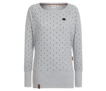 Female Sweatshirt 'Hodenschmerzen Iii' grau