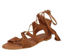 Sandale 'Gwyneth' cognac