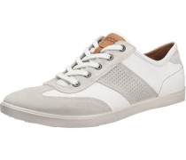 'Collin Gravel/White Suede/Lexi' Sneakers weiß