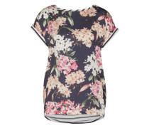 Shirt mit Mustermix dunkelblau / mischfarben