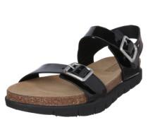 Sandalen 'Slide' schwarz