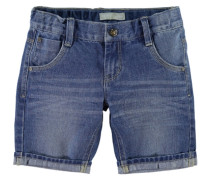 Jeansshorts nitross lange blau