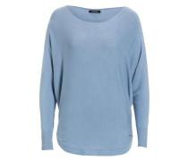 Pullover Fledermausärmel grau hellblau