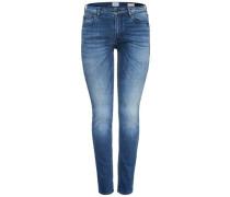 Demi Reg Slim Fit Jeans blau