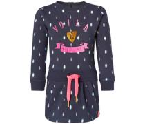 Kleid Delcity dunkelblau / mint / pink