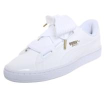 Sneaker 'Basket Heart Patent' weiß