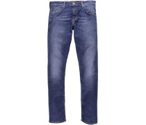 Stretchjeans »Chicago Tapered« blau