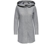 Klassischer Mantel grau