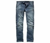 Straight-Jeans '5620 Elwood 3D' blue denim