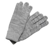 Strick-Handschuhe grau