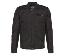 Bomberjacke 'men's outdoor jacket' dunkelgrau