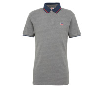 Polo-Shirt 'breaker Logo Polo' graumeliert