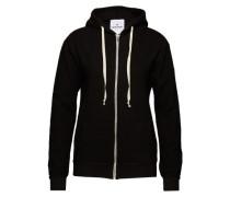 Kapuzenjacke aus Fleece 'Kima' schwarz