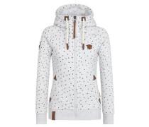 Female Zipped Jacket Gänsemarsch Arsch III grau