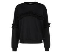 Sweatshirt 'Brooke' schwarz