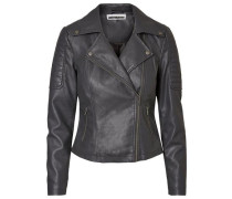 Bikerjacke 'rebel' anthrazit