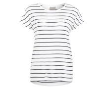 T-Shirt 'Vmcharly' schwarz / weiß