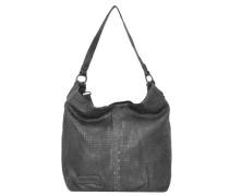 Shopper Tasche Leder 29 cm anthrazit