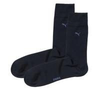 Classic 2er Pack Socken blau / marine / kobaltblau / enzian / dunkelblau