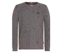 Sweatshirt 'Nordschleife made men' dunkelgrau