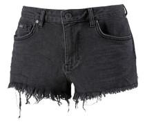 Jeansshorts black denim