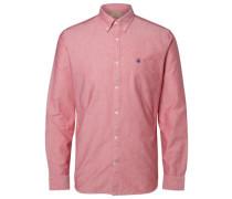 Oxford-Langarmhemd rosé