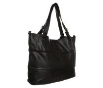 Lederbag 'Shopzilla' schwarz