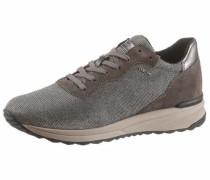 Sneaker dunkelbraun / grau / taupe