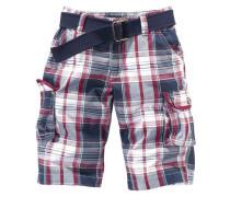 Arizona Bermudas inkl. Gürtel für Jungen blau / rot / weiß