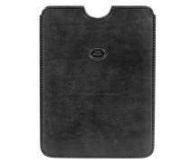 Exclusive Mini Ipad Case Leder 'Story' schwarz