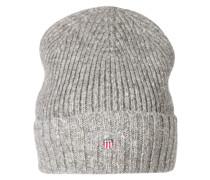 Mütze mit Fleece-Futter dunkelgrau