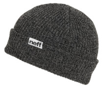 Fold Heather Beanie grau