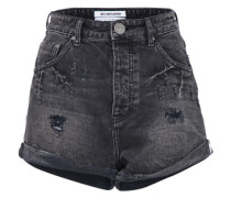 Denim Shorts black denim