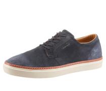 Sneaker dunkelblau / braun / weiß
